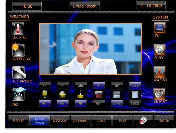 Home automation, KNX, smart home technology, abb knx, KNX intercom