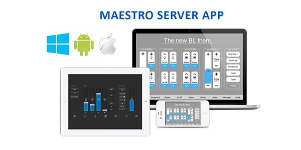 solución servidor KNX, Serveur KNX, Maestro