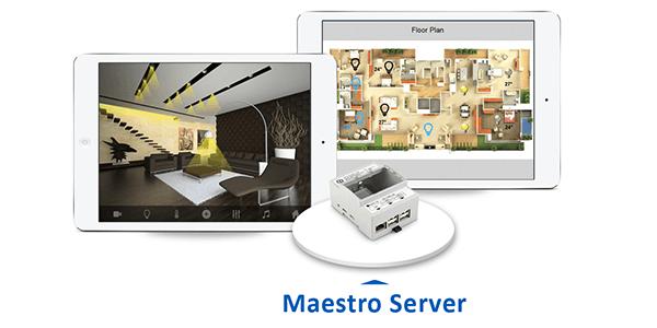 Interface utilisateur personnalisable, Serveur KNX