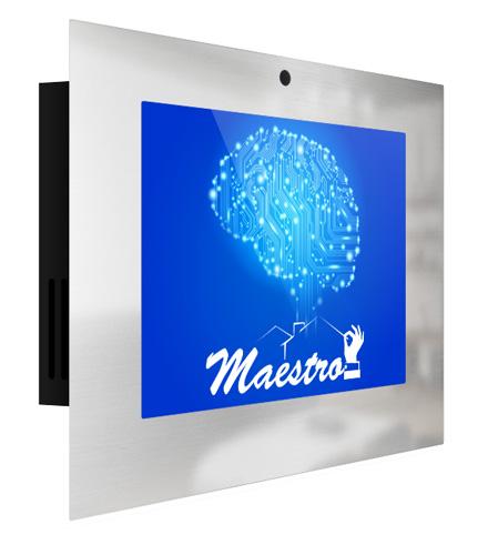 Knx touch screen server Maestro, MS4-4 knx server
