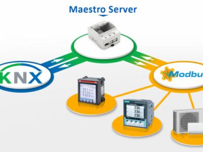 KNX Modbus gateway, Maestro