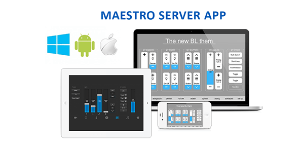 Application client, Serveur KNX, Maestro