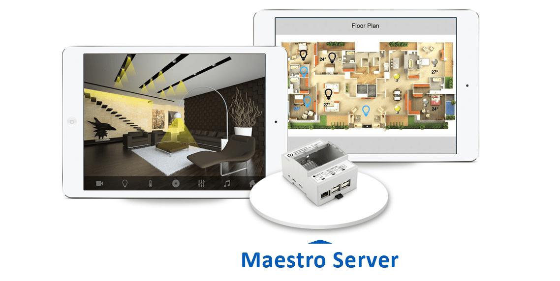 solución servidor KNX, Serveur KNX, KNX server