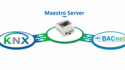 KNX to BACnet Gateway using Maestro
