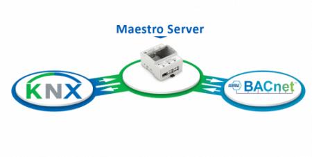KNX to BACnet Gateway using Maestro