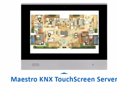 New KNX Touch Screen Server